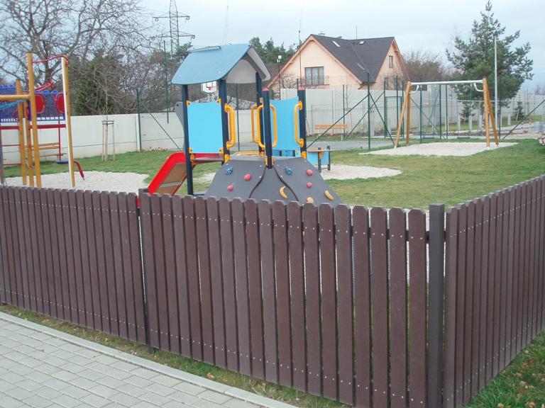 Plastový plot - Levné ploty.cz