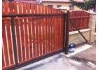 Brána samonosná -vlastní výplň barvy 1750x3500